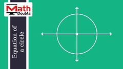 circle's centre coincides with origin (Math Doubts) Tags: centre origin circle equation