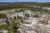 Artists Paintpot basin-Yellowstone National Park (AtmosFear Video) Tags: artistspaintpot upperview walkway geyserbasin