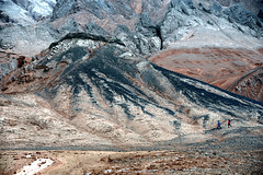 Flaming Mountains  火焰山 (MelindaChan ^..^) Tags: turpan xingjiang china 新疆 吐鲁番 crack dry flamingmountains 火焰山 clay nature flaming mountains chanmelmel mel melinda melindachan earth pattern