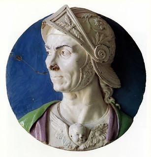 Andrea della Robbia, Giosuè, 1465-1470. Pesaro, Museo dell'Ateneo Pesarese