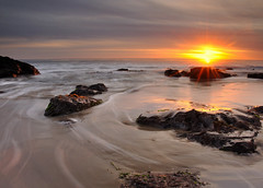 Gaviota Sunset (Marc Briggs) Tags: sunset beach filter gaviota gaviotacoast singhray reverseneutraldensitygraduatedfilter darylbensonreverseneutraldensitygraduatedfilter balanceforegroundwithbrighthorizon
