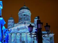 Helsinki Cathedral (timo_w2s) Tags: longexposure night finland helsinki cathedral tuomiokirkko lightingeffects