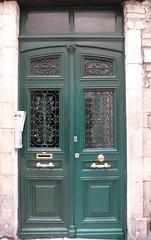 Dax (40), la porte verte. (Marie-Hlne Cingal) Tags: door france southwest verde green puerta wroughtiron vert porte 40 grn dax landes sudouest aquitaine ferforg dacs akize detalhesemferro acqs