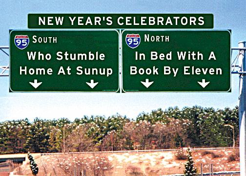 New Year's Celebrators