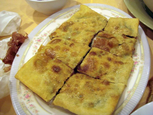 Red bean pancake@Shanghai Rest