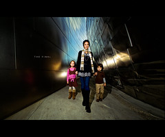 The Final (isayx3) Tags: street portrait reflection building lauren la losangeles nikon downtown angle bare flash wide sigma 365 wham f28 d3 monopod jeremycowart sb800 14mm pocketwizard strobist disneyconerthall plainjoe laurenlemon isayx3 inspiredbyjeremycowart