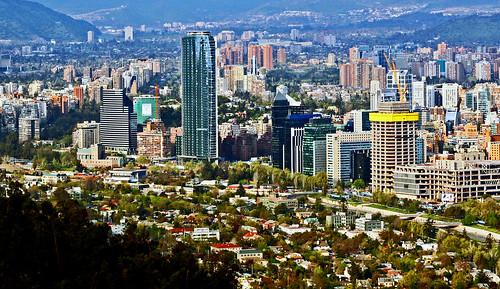 Torre Titanium- Santiago, Chile