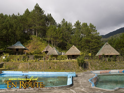 Banaue Ethnic Village Natural Pool and Huts