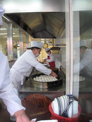 Making Sheng Jian Bao