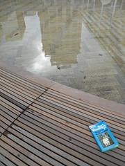 reflections of Portland (Todd Gundersomething) Tags: rain oregon portland book literature author vonnegut tingaling kurtvonnegut godblessyoumrrosewater mrrosewater