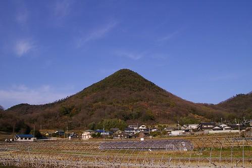 富士山ライクな山