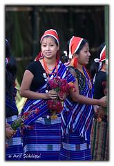 Beautiful Ronrang Girl (Arif Siddiqui) Tags: girls people india green tourism nature festival landscape asia festivals tribal tradition ethnic arunachal dances cuture northeastindia jairampur tangsa wihukuh ronrang