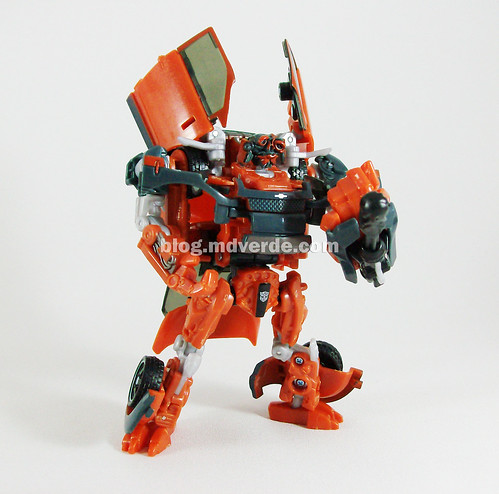 Transformers Mudflap RotF Deluxe - modo robot