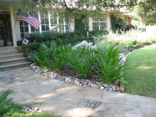 Frontyard landscape construction