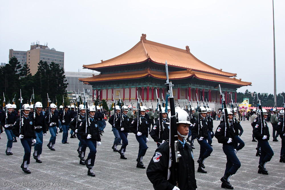 Guards Performance @ Chiang Kai-Shek Memorial Hall, Taipei, Taiwan