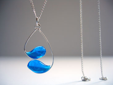 Auction Item: verre new york necklace