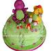 Barney and BJ Cake/ Torta de Barney y BJ