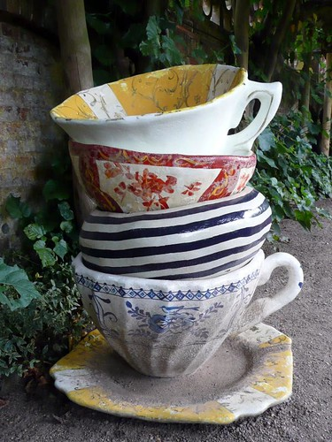 Giant Tea Cups - Sculpture
