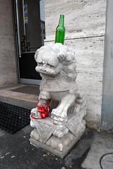 """culture et tradition (dominique hugon) Tags: china street sculpture snow rabbit beer poster punk hand alice main lion lausanne help neige wonderland lapin bière abattoirs flûte affiches ausecours """"dominique hugon"""""""