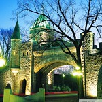 Québec: La porte Saint-Louis