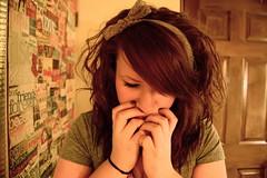 20/365 (Karina Walters) Tags: self hair shy nervous ribbon 365