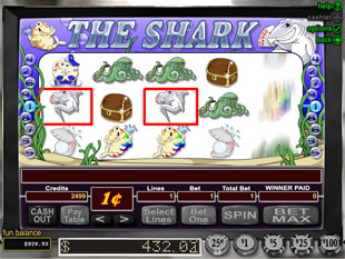The Shark slot game online review
