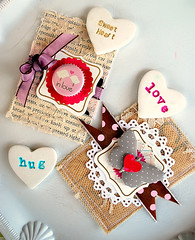 a Heart tutorial (Tara Anderson) Tags: cards handmade magnets valentines