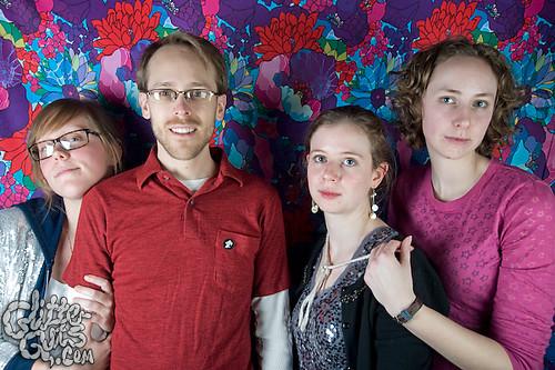Glitterguts Family Portrait