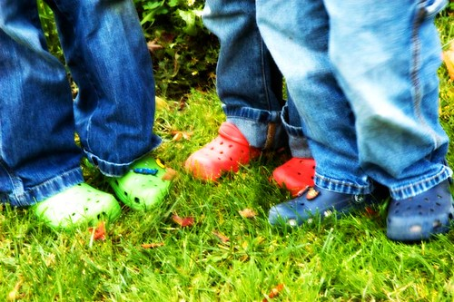 feet kids shoes crocs