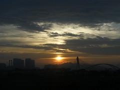 Malaysian Sunrise (Keith Mac Uidhir  (Thanks for 3m views)) Tags: city morning light urban cloud sun sunlight luz sunshine clouds sunrise grey dawn town asia asien bright cloudy gray malaysia gloom asie kuala kualalumpur luce aasia asya lumpur  azia azi sia   chu   zsia