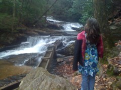 Iz at the Falls