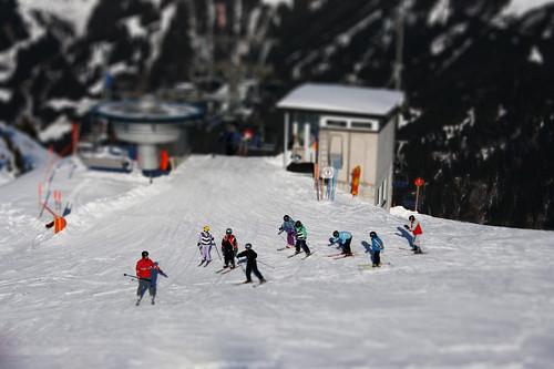 Miniland Skifahrer