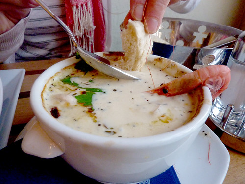Fish soup at Gabriels