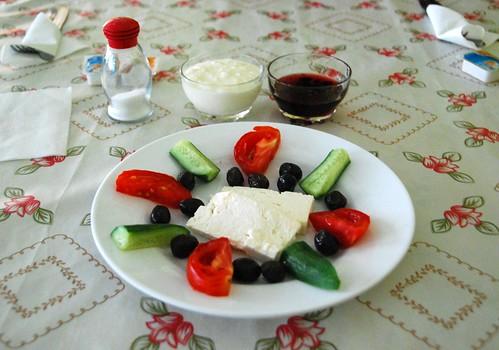 a typical turkish breakfast, van