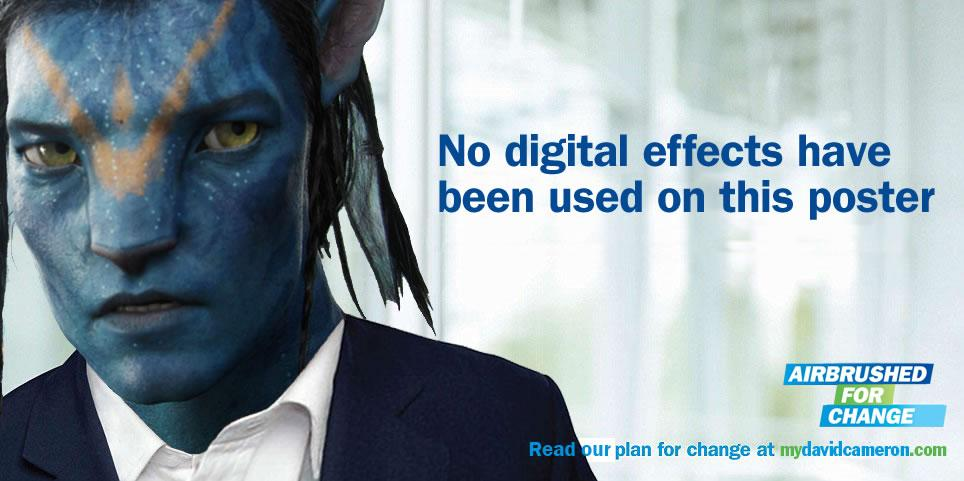 David Cameron - Airbrushed for Change