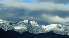 Canadian Rockies (njchow82) Tags: winter sky snow canada nature clouds forest landsc