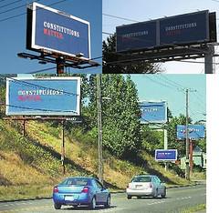 Illegal Clear Channel Billboard Status?