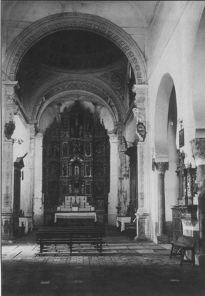Iglesia de San Román antes de la restauración de 1940. Foto Rodríguez