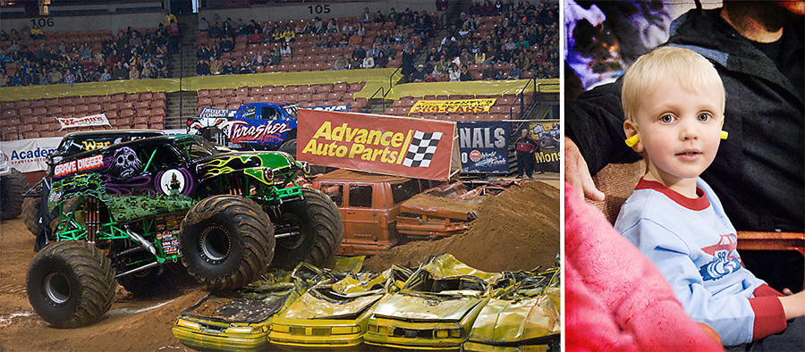 Charlie Monster Truck Collage_web
