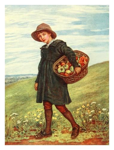 032- Camino de la aldea-Kate Greenaway 1905- Marion Spielmann y George Layard