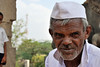 An old man at Sudi (Adesh Singh) Tags: portrait india man face closeup rural village oldman aged wrinkles mobileresearch dharwad dharwar templesofindia hoobli
