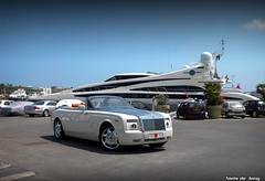 Rolls Royce Phantom Drophead (Niels de Jong) Tags: cruise cars car boat king ship yacht plate prince most arab license worlds rolls sultan arabian phantom expensive luxury coupe sheikh royce sheik dhc drophead sjeik nielsdejong sjeikh ndjmedia