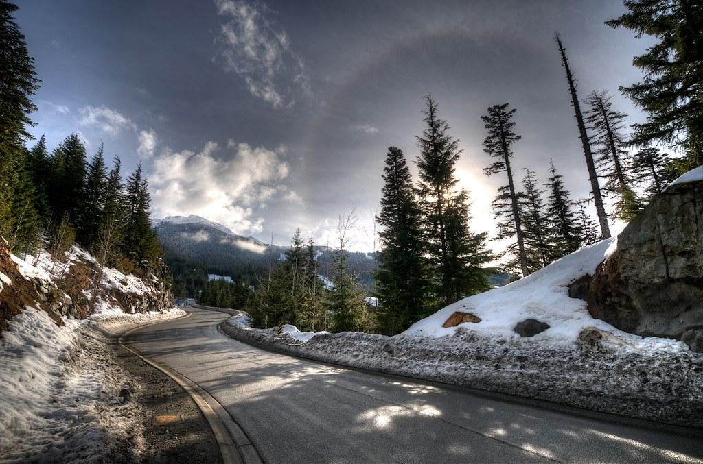 Road to the Alpine Venue