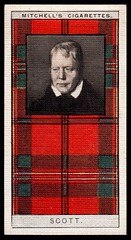 Cigarette Card - Clan Scott