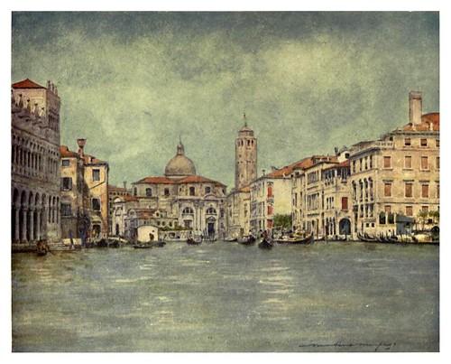 001-Gran Canal con la Iglesia y torre de San Jeremia-Venice – 1904-Dorothy Menpess