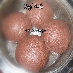 Padma's Ragi Balls