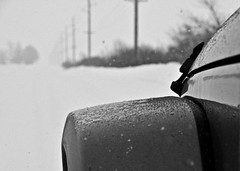 Weather Advisory (12Jeepgirl~Never look back...) Tags: winter usa snow car rural photoshop truck blackwhite nikon midwest jeep bokeh sigma iowa adobe american suv unlimited lightroom wrangler d300 cs4 ankeny blackwhitephotos