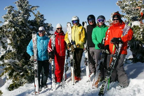 Ski Test Group Picture