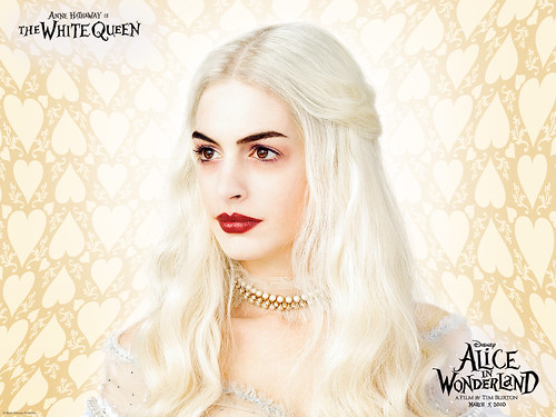 White Queen wallpaper From the