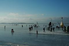 Markermeer (snoeziesterre) Tags: winter snow ice iceskating sneeuw nederland marken ijsselmeer ijs schaatsen icesailing ijsschotsen ijszijlen